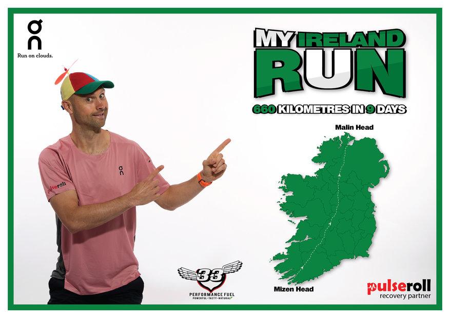 My Ireland Run Map